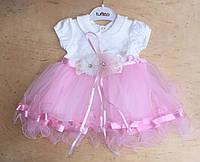 Нарядное пышное платье для девочки Турция на 1 год, фото 1