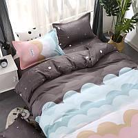 Комплект постельного белья Воздушное небо (двуспальный-евро)