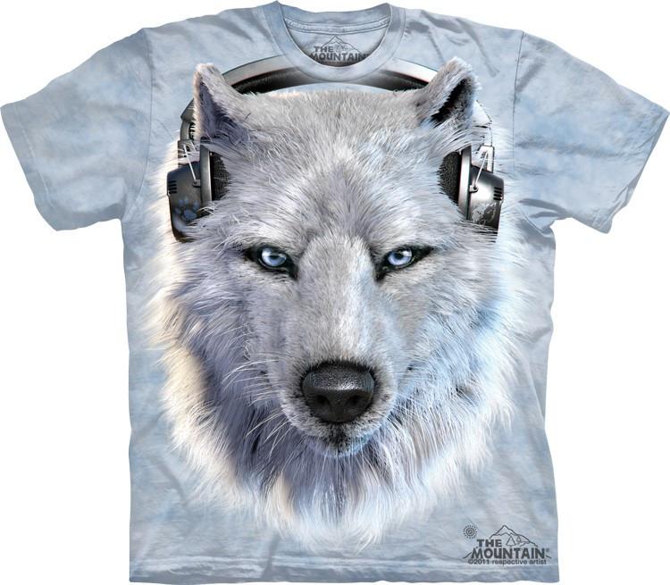 Футболка The Mountain - White Wolf DJ