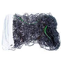 Сетка для волейбола (PE 3 мм, р-р 9,5м*1м, с металл.тросом)