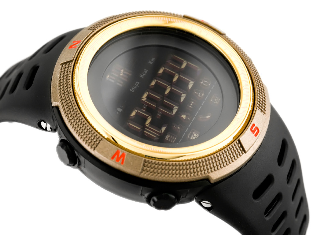 Спортивні смарт-годинник Skmei Smart 1250 золоті 50 m водонепроникні (5АТМ)