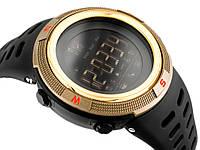 Спортивні смарт-годинник Skmei Smart 1250 золоті 50 m водонепроникні (5АТМ), фото 1