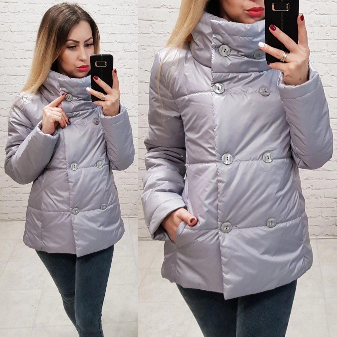 Куртка весна/осень 2018, модель 1001/2, цвет - серый