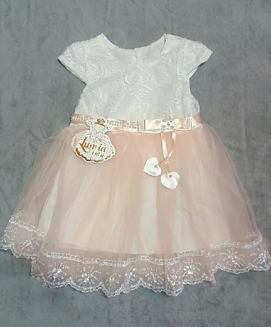 Нарядное платье для девочки Турция на 1 год