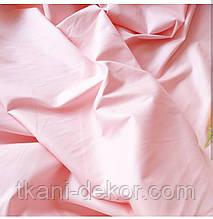 Сатин (бавовняна тканина) пудра однотонний