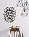Декоративное панно из дерева Лев, фото 5