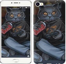 "Чехол на Meizu M3x gamer cat ""4140c-633-328"""