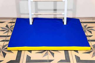 Гимнастический мат под шведскую стенку + чехол 1200х1000х40 мм, фото 3