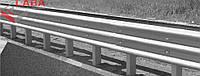 Комплекты двустороннего дорожного ограждения