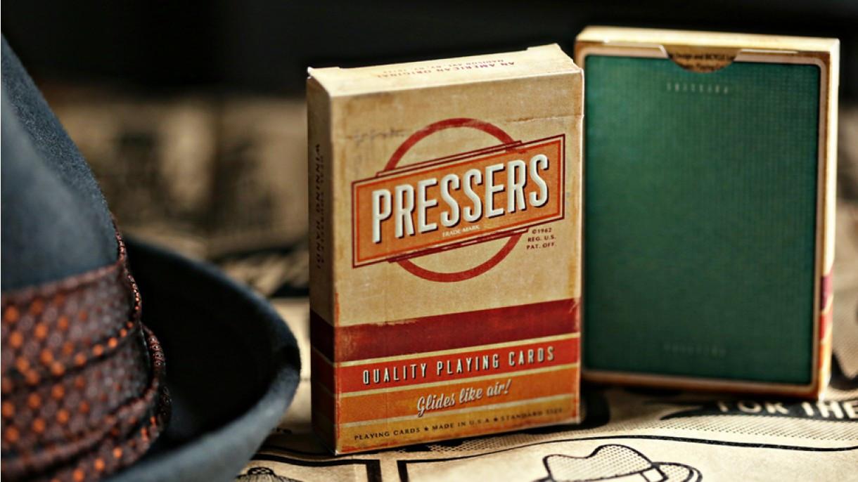 Карты игральные | Pressers by Ellusionist