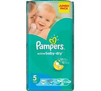 Подгузник Pampers Active Baby Junior 5 (11-18 кг), 58шт
