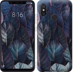 """Чехол на Xiaomi Mi8 Листья v3 """"3328c-1499-328"""""""