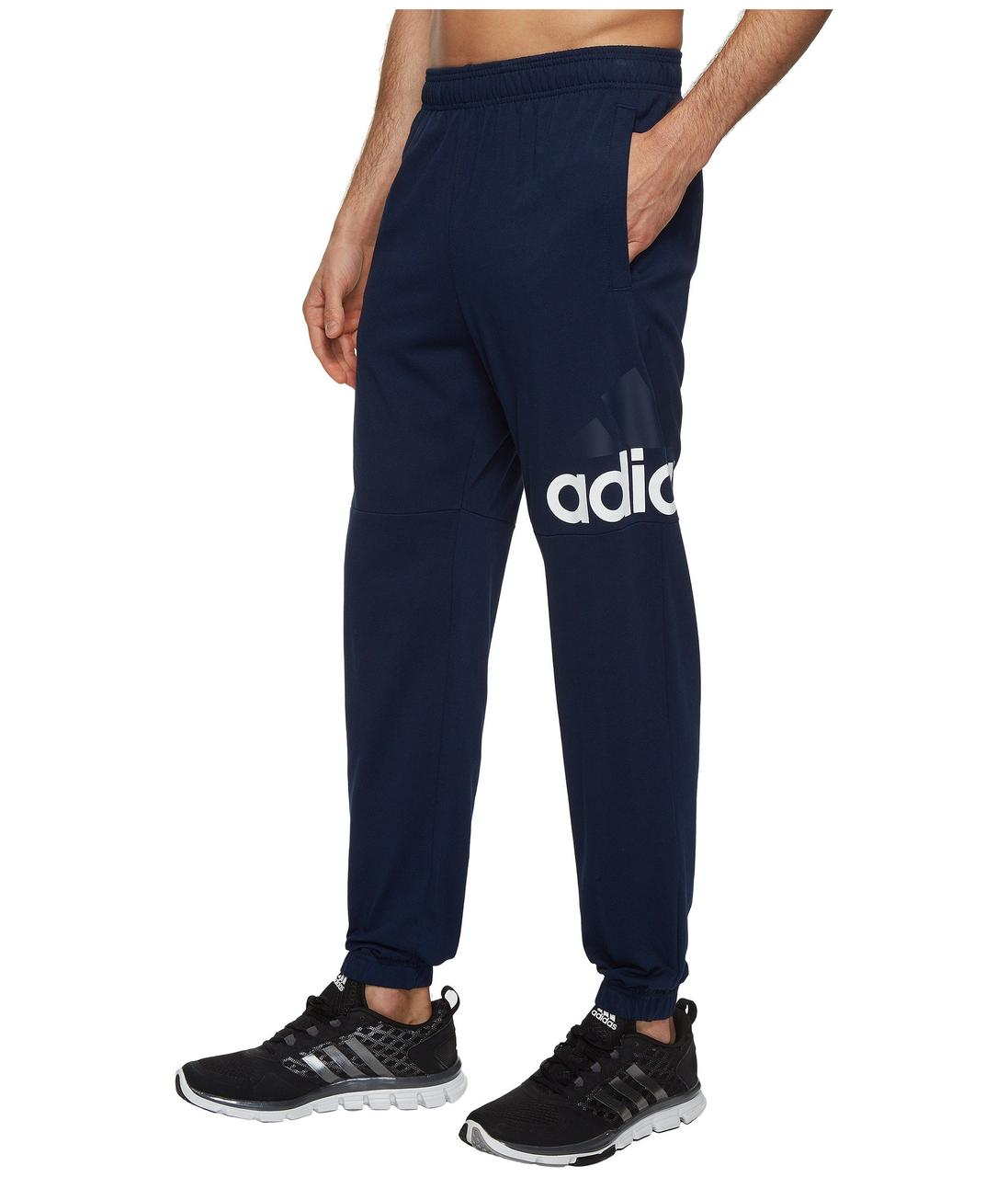 1025d8b0 Штаны Adidas Essentials Track SJ Logo Pants Navy - Оригинал — в ...