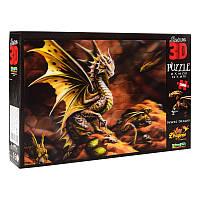 Пазлы с эффектом 3D на 500 деталей (драконы), 10091