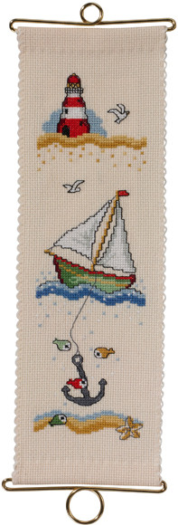 """Набір для вишивання хрестом ТМ Permin """"Маяк (Lighthouse)"""" 36-3101"""