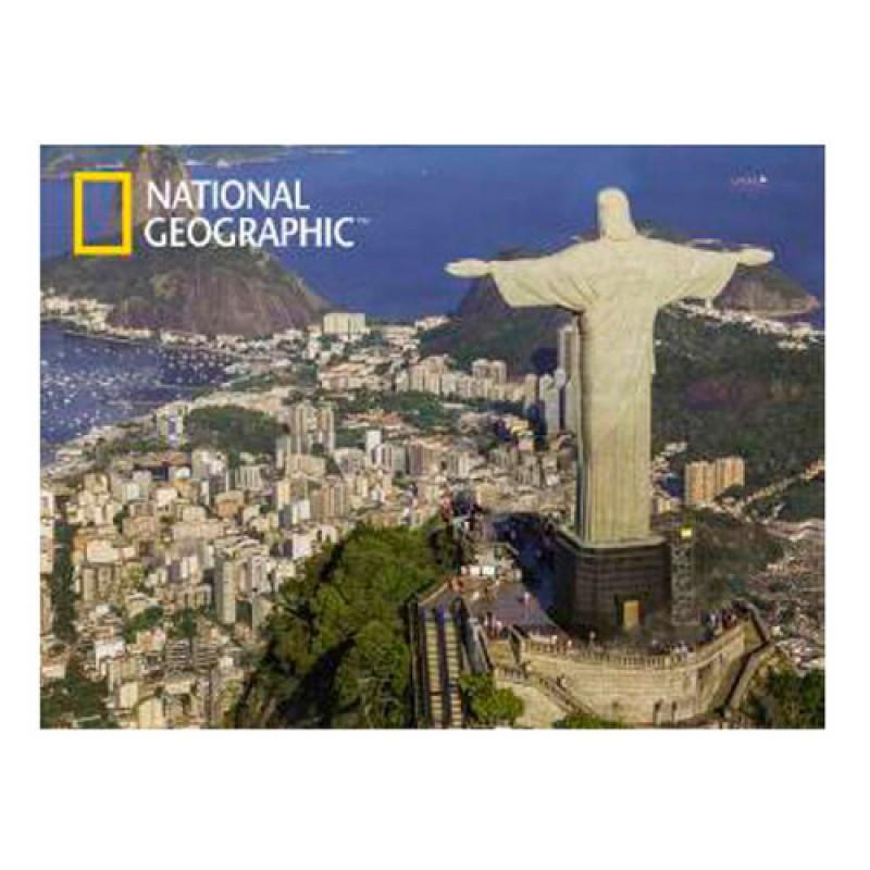 Пазлы с эффектом 3D на 500 деталей (архитектура - Статуя Христа-Искупителя, Рио-де-Жанейро), 10165