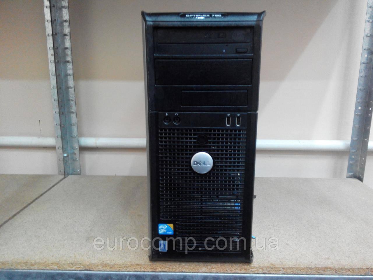 Компьютер для дома и офиса Dell Optiplex 780 MT (C2D E7400/4GB/250GB)