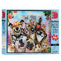 Пазлы с эффектом 3D на 500 деталей (животные, собаки и коты), 10062