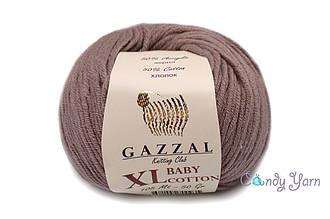 Gazzal Baby Cotton XL, гляссе №3434