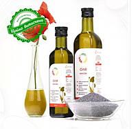 Маковое сыродавленное масло 250мл, 500мл, 1л