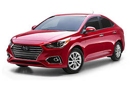 Чехлы Hyundai Accent 2017- r.