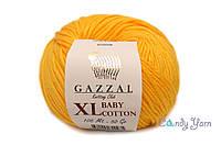 Gazzal Baby Cotton XL, ярко-желтый №3417, фото 1