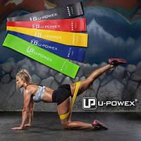 Резинки для фитнеса U-Powex. Набор 5шт. Mini loop band. Ленты/петли сопротивления. Эспандеры
