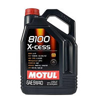 Моторное масло Motul 8100 X-cess 5W-40 5 л (102870)