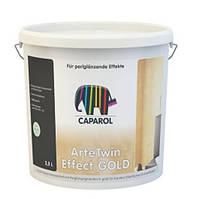 Шпаклевка с перламутровыми золотистымичастицами, Капарол(Caparol Arte Twin Gold) 2,5 л
