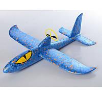 Самолет из пенопласта с винтом A0006007, 36см, пенопласт, аккумулятор, винт, зарядное(раб.от бат), 3цв