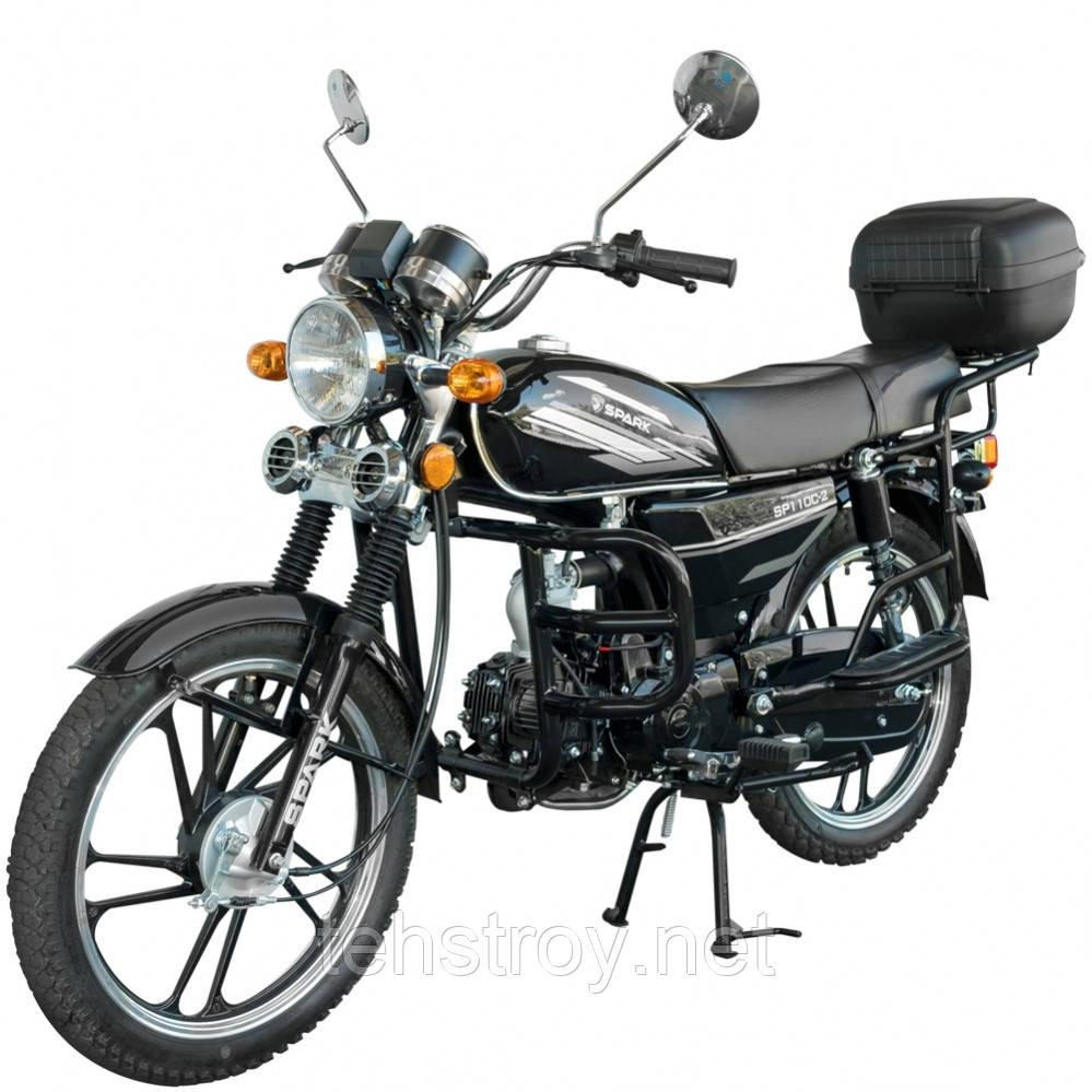 Мотоцикл SPARK SP110C-2 + Доставка бесплатно