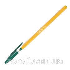 Ручка шариковая BIC оранж зеленый