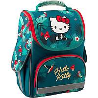 Рюкзак каркасный школьный Kite Education для девочек 35 x 25 x 13 см 11 л Hello Kitty (HK19-501S)