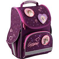 Рюкзак каркасный школьный Kite Education для девочек 35 x 25 x 13 см 11 л Rachael Hale (R19-501S)