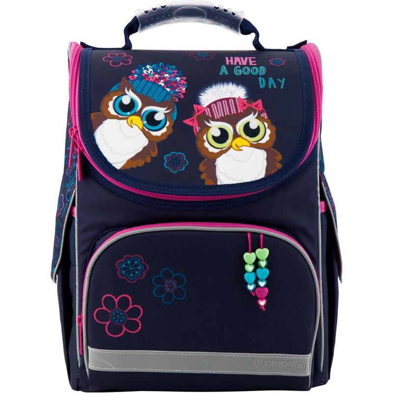 Рюкзак каркасный школьный Kite Education для девочек Owls (K19-501S-2)
