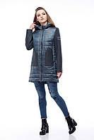 Комбинированная брендовая куртка Эрика, разные цвета, фото 1