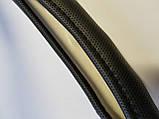 Чехол на руль черный с перфорацией М , фото 2