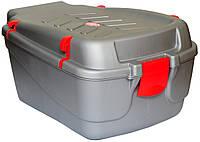 Контейнер на багажник 30x20x15 cm сірий (KOS031)