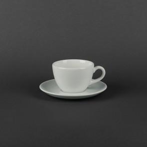 Чашка фарфоровая 180мл с блюдцем 145мм Aida Lubiana 460