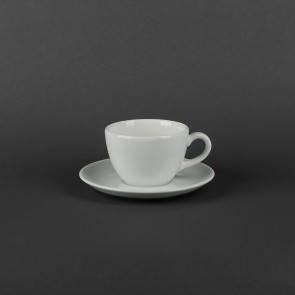 Чашка фарфоровая 180мл с блюдцем 145мм Aida Lubiana 460, фото 2