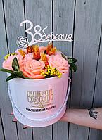 Восхитительные Цветы из мыла ручной работы
