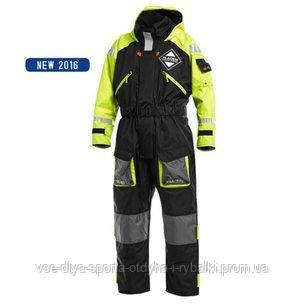 Костюм-поплавок Fladen Floatation Suit 845XY Black/Yellow S