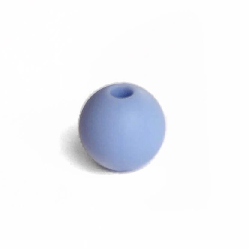 15мм (серенити) круглая, силиконовая бусина