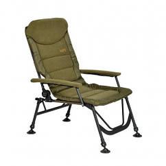 Кресло карповое M-Elektrostatyk FK7 Supra с мягкими подлокотниками