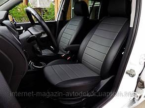 Чехлы на сиденья полностью экокожа для Hyundai Accent 2017-