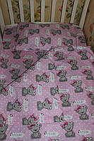 Детское постельное белье в кроватку комплект постельного белья в кроватку