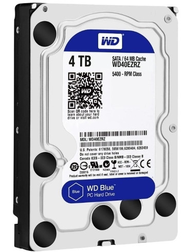 "Жесткий диск 3.5"" 4Tb WD WD40EZRZ (64Mb/5400/SATAIII) БУ"