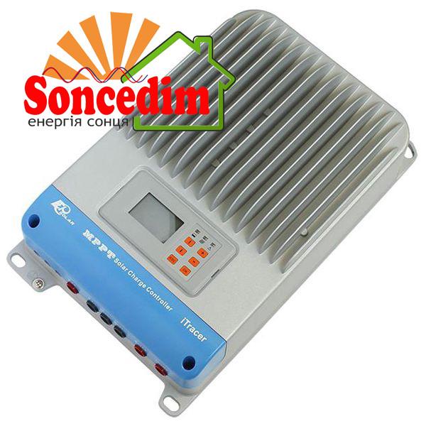 Купити Контроллер MPPT 30A 12/24/36/48В с дисплеем, (iT3415ND),  EPsolar(EPEVER) від інтернет магазину Soncedim - 928646039