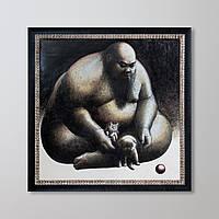"""Оригинальная картина большого формата """"SOLITUDE"""" от VIRAT"""
