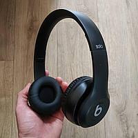 Накладные беспроводные Bluetooth наушники Beats Solo 3 Wireless черные